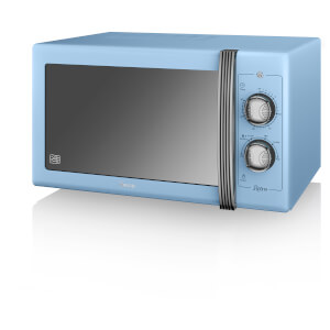 Swan SM22070BLN 900W Manual Microwave - Blue