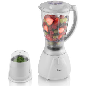 Swan SP26050N Blender & Grinder - White
