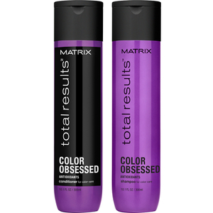 Shampoo e Condicionador (300 ml) Color Obsessed da Matrix Total Results