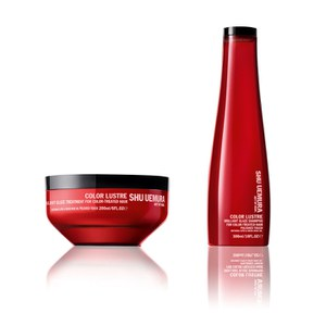 Dúo sin Sulfato Shu Uemura Art of Hair Color Lustre - Champú y Mascarilla (200ml)