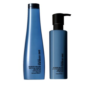 Shu Uemura Art of Hair Muroto Volume Pure Lightness -shampoo (300ml) ja -hoitoaine (250ml)