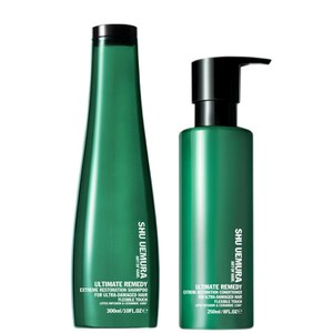 Shu Uemura Art of Hair Ultimate Remedy Shampoo (300 ml) och Conditioner (250 ml)