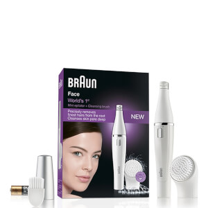 Braun 810 Facial Epilierer und Cleansing Brush