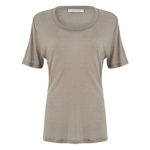 Samsoe & Samsoe Women's Agnes T-Shirt - Vintage Khaki