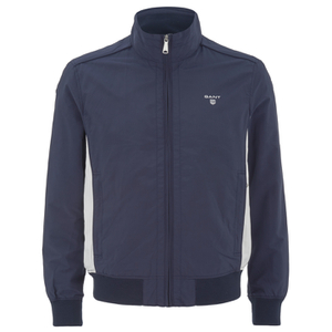 GANT Men's Smash Zipped Jacket - Marine