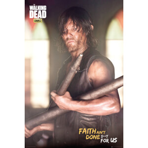 The Walking Dead Daryl Faith Portrait - 24 x 36 Inches Maxi Poster