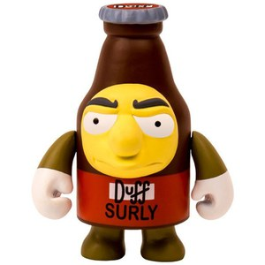 Kidrobot The Simpsons Surly Duff Action Figure
