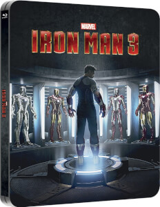 Iron Man 3 - Zavvi UK Exclusive Lenticular Edition Steelbook