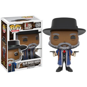 Figura Pop! Vinyl Mayor Marquis Warren - Los odiosos ocho