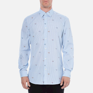 Vivienne Westwood MAN Men's Classic Cut Away Long Sleeve Shirt - Bird Coupe