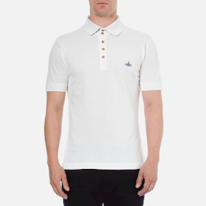Vivienne Westwood MAN Men's Basic Pique Polo Shirt - White
