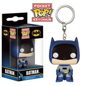 Batman 75th Anniversary Blue Batman Pop! Vinyl Keychain