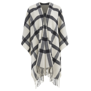 BeckSöndergaard Women's Nippon Wool Cape - Off White