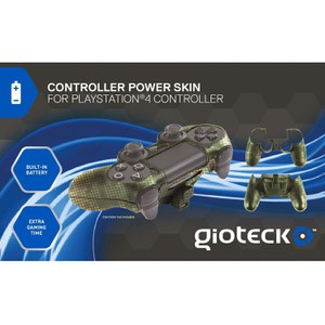 Gioteck PS4 Controller Power Skin - Camo