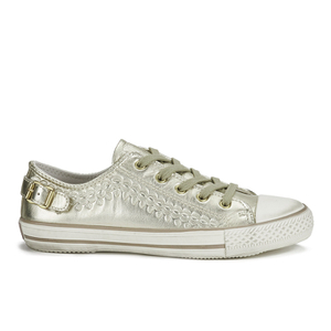 Ash Women's Virgo Iron Low Top Trainers - Gold