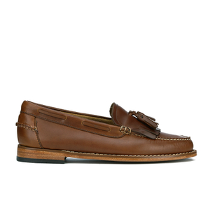 Bass Weejuns Women's Esther Pull Up Leather Loafers - Mid Brown