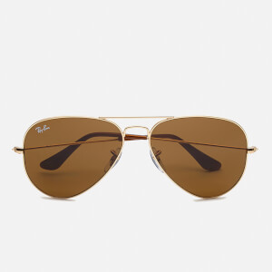 Ray-Ban Aviator Large Sunglasses 58mm - Metal Gold