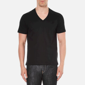Versace Collection Men's V-Neck T-Shirt - Black
