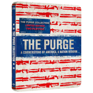 The Purge/The Purge: Anarchy: Limited Edition Steelbook (UK EDITION)