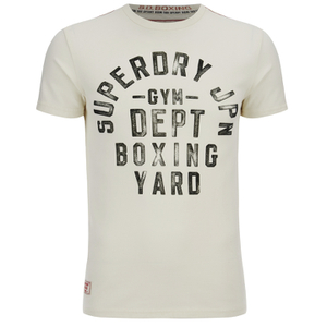 Superdry Men's Boxing Yard Short Sleeve T-Shirt - Gym Ecru