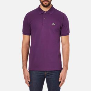 Lacoste Men's Short Sleeve Pique Polo Shirt - Boheme Purple