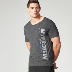 Myprotein Men's Tag T-Shirt - Szary