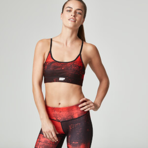 Myprotein Women's Power BH - Red Concrete
