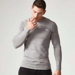 Myprotein Men's Mobility Long Sleeve Top - Grey