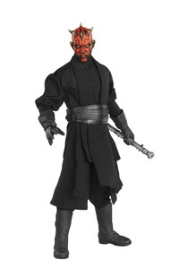 Sideshow Collectibles Star Wars Episode One Darth Maul Duel on Naboo 11 Inch Figure