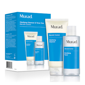 Murad Clarifying Cleanser and Toner Duo (im Wert von £39)