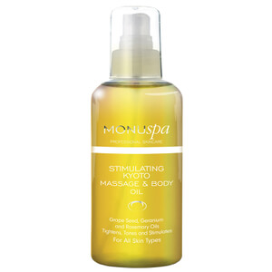 MONUspa Stimulere Kyoto Massasje og Body Oil 100ml