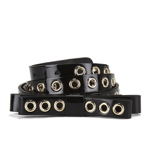 REDValentino Women's Stud Bow Belt