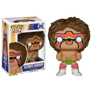 WWE Ultimate Warrior Pop! Vinyl Figure