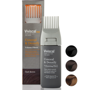 Viviscal Hair Thickening Fibres for Men, Castaño oscuro