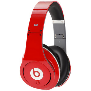 Beats by Dr. Dre: Studio Noise Cancelling Headphones - Red - Manufacturer Refurbished