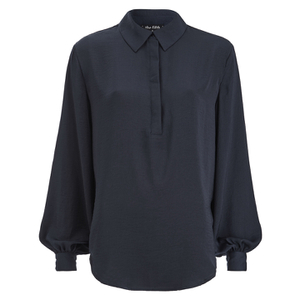 The Fifth Label Women's Stay A While Long Sleeve Shirt - Petrol Blue