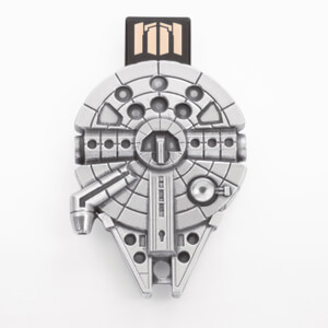 Royal Selangor Star Wars Millennium Falcon 16GB Pewter Flash Drive