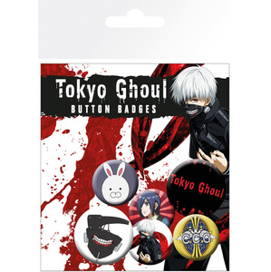 Tokyo Ghoul Mix - Badge Pack