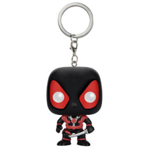 Marvel Deadpool Black Suit Pocket Funko Pop! Keychain