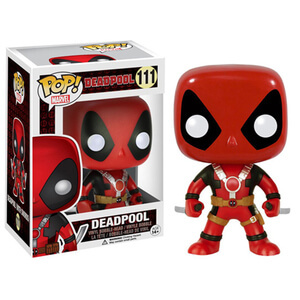 Marvel - Deadpool Con Due Spade Figura Pop! Vinyl