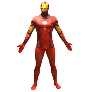 Morphsuit Marvel Iron Man -Adulte