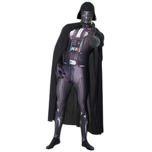 Morphsuit Star Wars Dark Vador Deluxe -Adulte