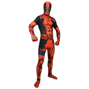 Morphsuit Adulte Deluxe - Marvel : Deadpool