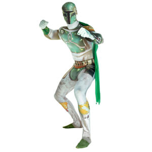 Morphsuit Star Wars Boba Fett Deluxe -Adulte