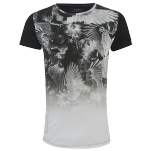 Religion Men's Front Print Crew Neck T-Shirt - White