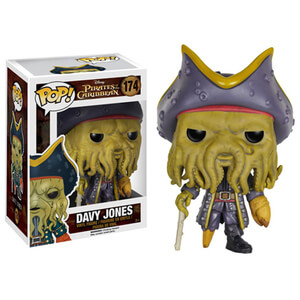 Figura Pop! Vinyl Davy Jones - Disney Piratas del Caribe