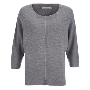 ONLY Women's Tessa Oversize Knitted Pullover - Light Grey Melange