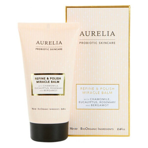 Aurelia Probiotic Skincare Refine and Polish Miracle Balm balsam peelingujący do twarzy 75 ml