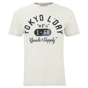 Tokyo Laundry Men's Woodcroft T-Shirt - Ivory