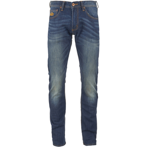 Superdry Men's Corporal Slim Denim Jeans - Brighton Blue